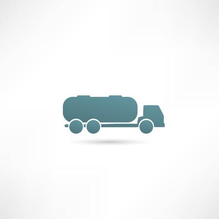 Tank truck Vector