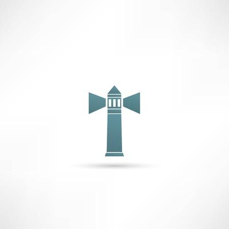 Vuurtoren pictogram