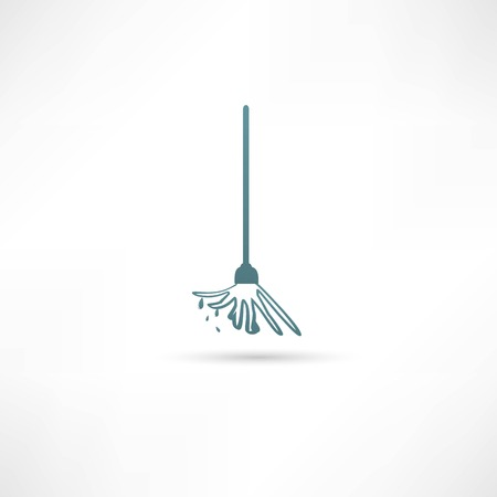 mop the floor Vector