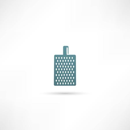 grater for vegetables and fruits icon Illustration