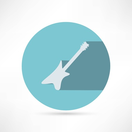 Guitar - vector illustration Vector