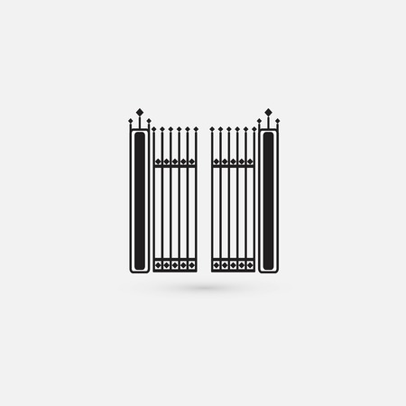 keepout: gate icon Illustration