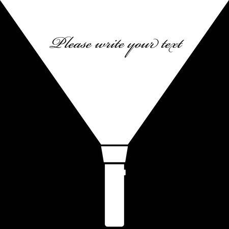 taschenlampe: Taschenlampe Symbol