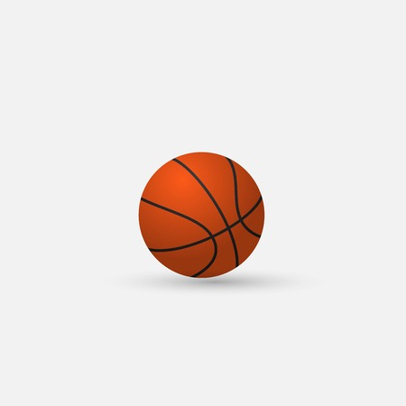 Vector Basketball isolated on a white background Vector