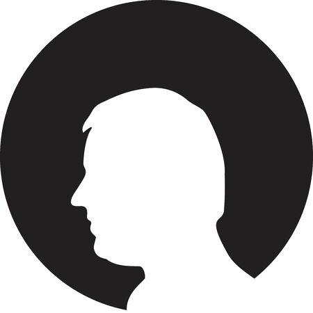 gear head: Gear head icon Illustration