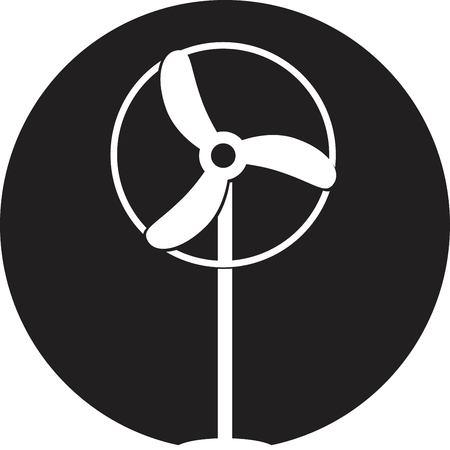 ventilator: Fan Ventilator Vector icon