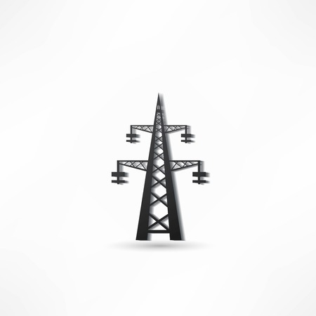 high tension: Power transmission tower