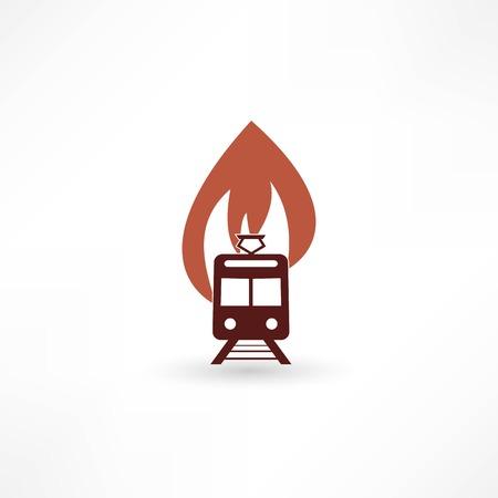 fire engine: Illustrazione vettoriale di un motore di fuoco