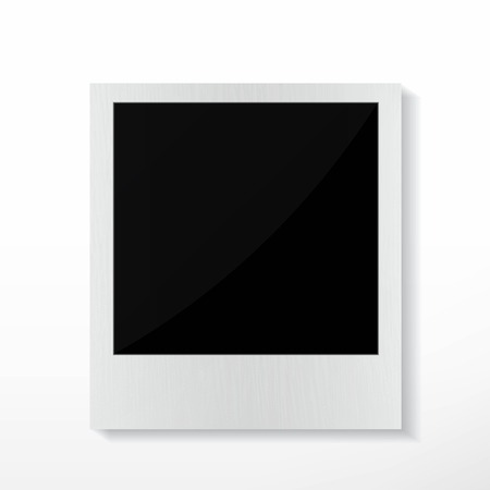 recollection: Isolated Photo Frames on White Background
