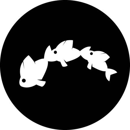 ichthys: fish icon