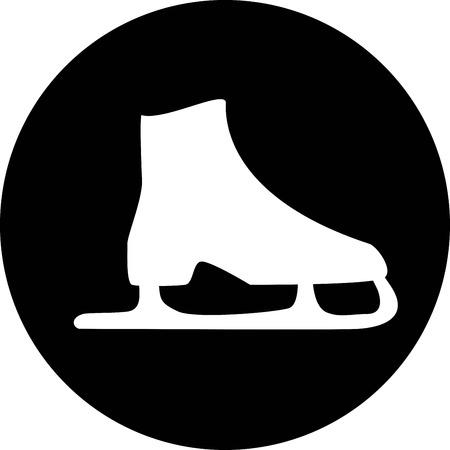 Skating Icon Vektorgrafik