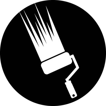 painter icon Vector
