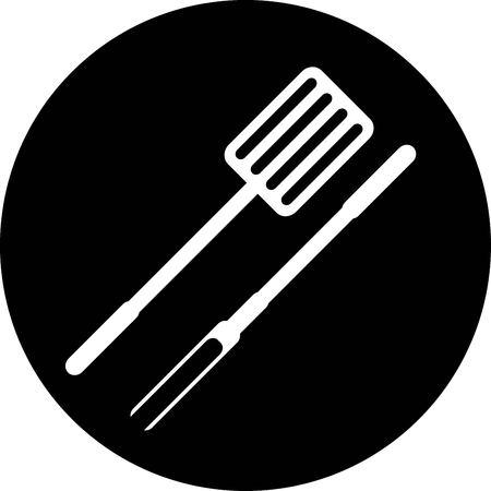 grill icon Illustration