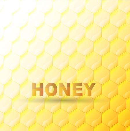 Honeycomb vector background Vector