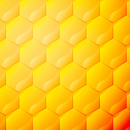 Honeycomb vector background Vector