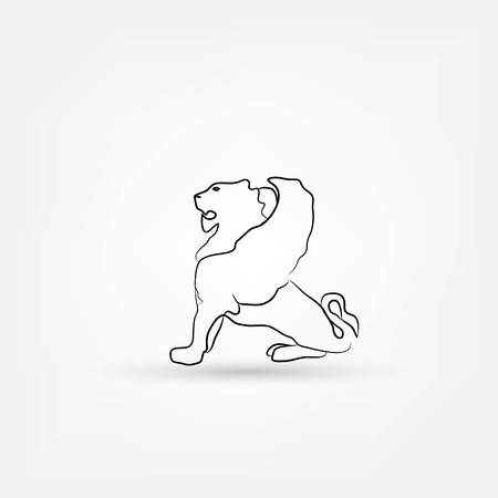 lion wing Vector