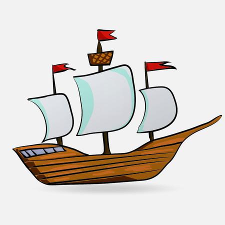 sailing vessel: buque de vela