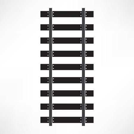 estacion de tren: Icono del ferrocarril