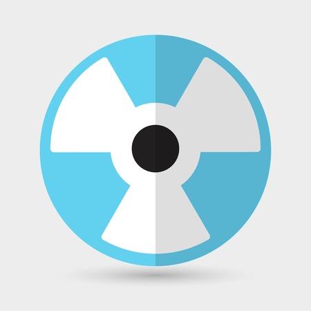 radium: radiation symbol