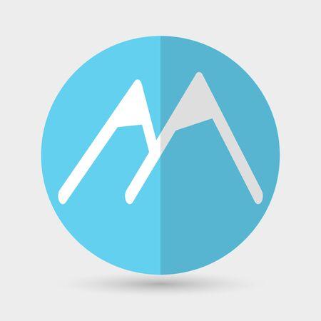 himalaya: Mountain icon