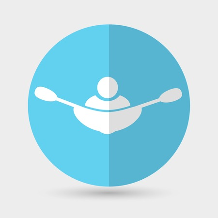 rowing: rowing boat icon