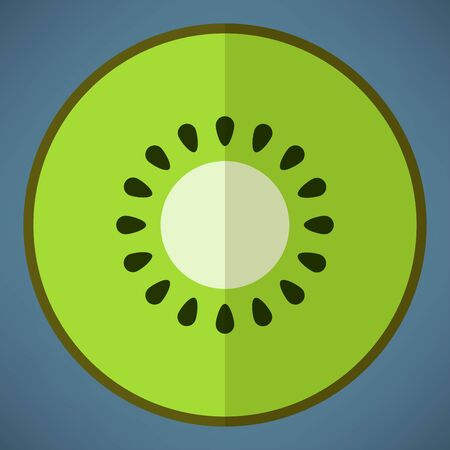 kiwi icon 일러스트