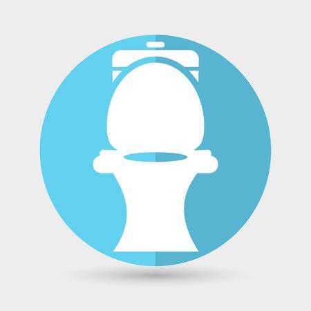 toilet symbol: Toilet symbol