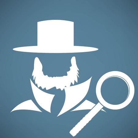 burly: Man beard icon