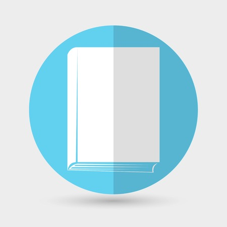 astute: Book icon on a white background