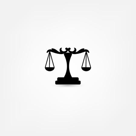 judicial system: escalas icono