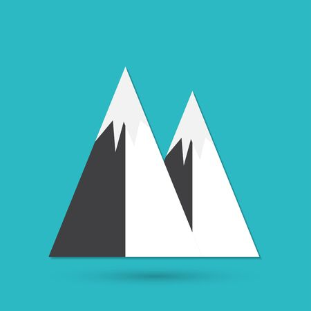 mountainside: Mountain icon
