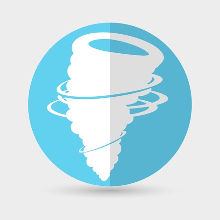 wind icon vector Vector