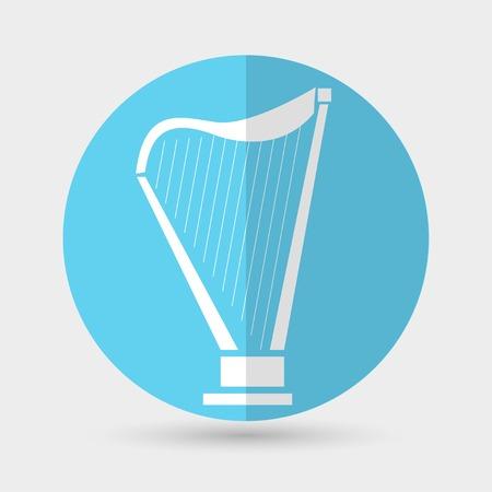 philharmonic: harp icon