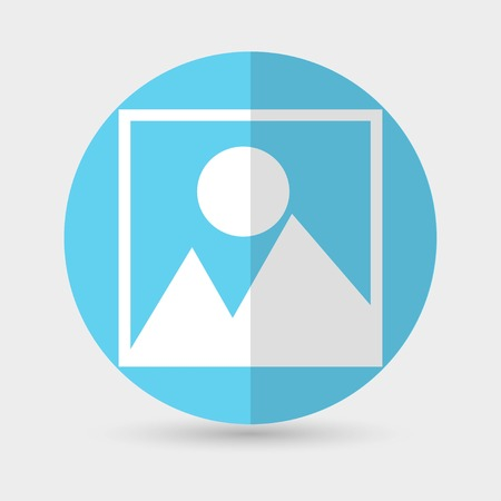 photograph: Vector photograph icon