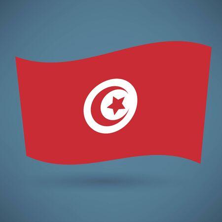 tunisian: Tunisian flag icon