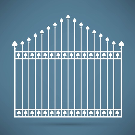 furnish: gate icon Illustration