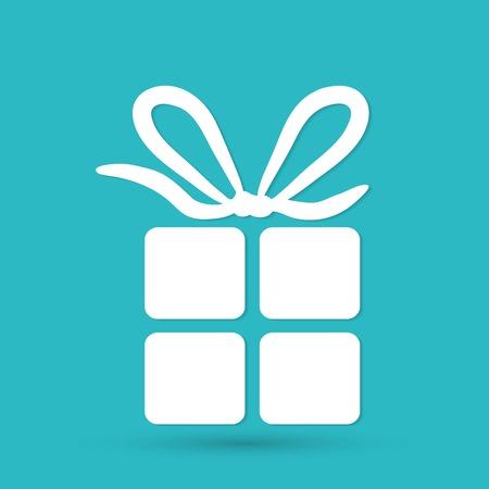 gift box icon 矢量图像
