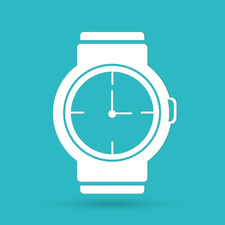 straps: wristwatch icon Illustration