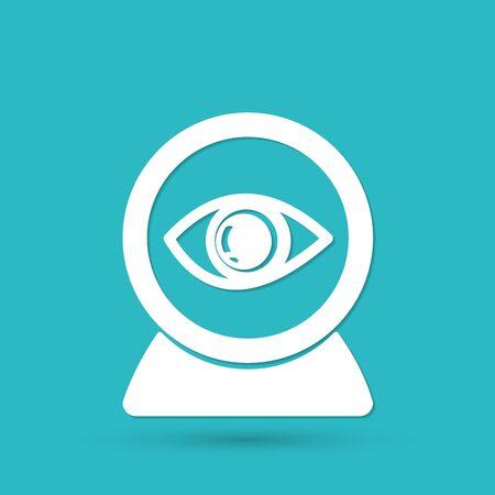 web camera: Web camera eye icon