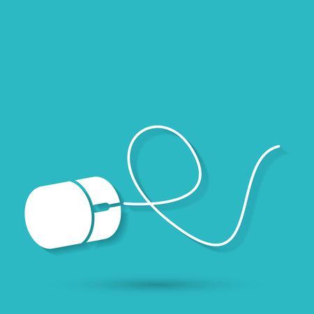 myszy: Ikona Mysz komputerowa Ilustracja