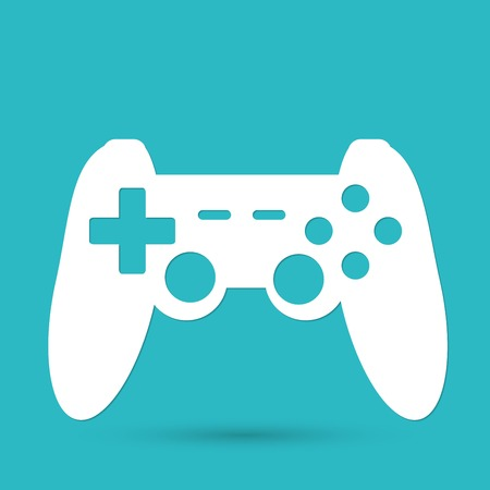joypad: game joypad icon Illustration