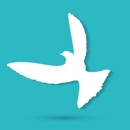 peace symbols: Dove of Peace Vector illustration Illustration