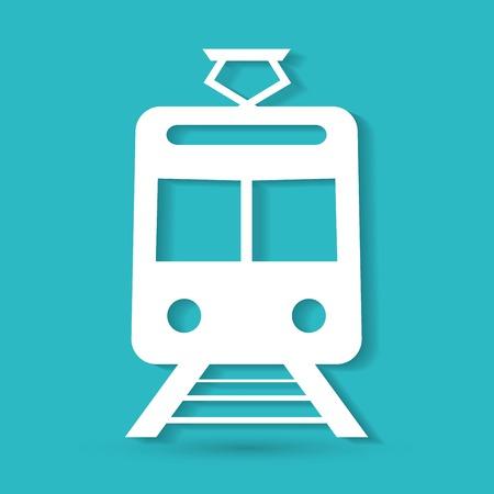 tren caricatura: Tren Icono