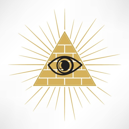 new world order: Pyramid Eye