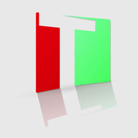 based: Abstract icon based on the letter t Illustration