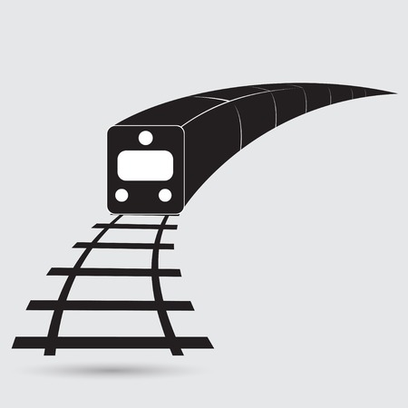 bullet icon: Train outline