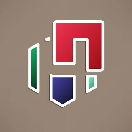 h: Abstract icon based on the letter h