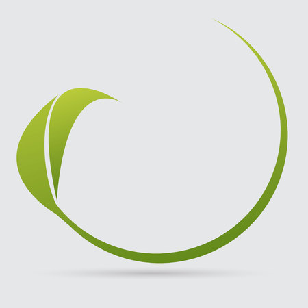 icon leaf 矢量图像