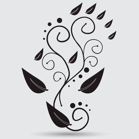 abstrakce: květinové abstrakce Ilustrace