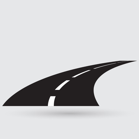 winding: Road icon